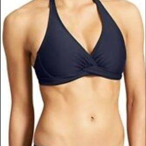 Athleta Tara Halter Top Shirred Boy Short 32B/C S